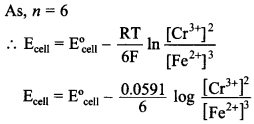 Chemistry MCQs for Class 12 with Answers Chapter 3 Electrochemistry 28