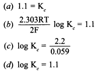 Chemistry MCQs for Class 12 with Answers Chapter 3 Electrochemistry 5