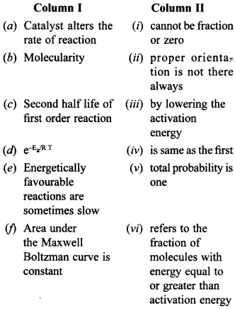 Chemistry MCQs for Class 12 with Answers Chapter 4 Chemical Kinetics 7