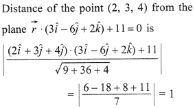 Maths MCQs for Class 12 with Answers Chapter 11 Three Dimensional Geometry 36