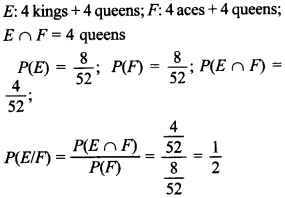 Maths MCQs for Class 12 with Answers Chapter 13 Probability 13