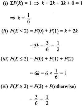 Maths MCQs for Class 12 with Answers Chapter 13 Probability 22