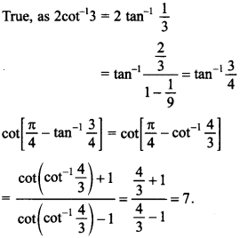 Maths MCQs for Class 12 with Answers Chapter 2 Inverse Trigonometric Functions 24