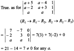 Maths MCQs for Class 12 with Answers Chapter 4 Determinants 38