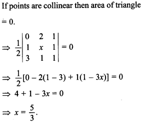 Maths MCQs for Class 12 with Answers Chapter 4 Determinants 40