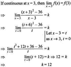 Maths MCQs for Class 12 with Answers Chapter 5 Continuity and Differentiability 23