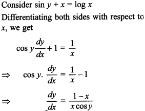 Maths MCQs for Class 12 with Answers Chapter 5 Continuity and Differentiability 34
