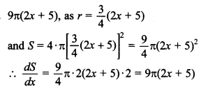 Maths MCQs for Class 12 with Answers Chapter 6 Application of Derivatives 2