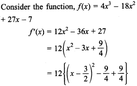 Maths MCQs for Class 12 with Answers Chapter 6 Application of Derivatives 21