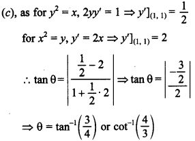 Maths MCQs for Class 12 with Answers Chapter 6 Application of Derivatives 30