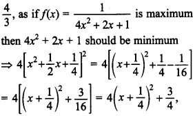 Maths MCQs for Class 12 with Answers Chapter 6 Application of Derivatives 32