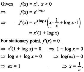 Maths MCQs for Class 12 with Answers Chapter 6 Application of Derivatives 35