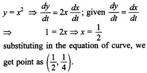 Maths MCQs for Class 12 with Answers Chapter 6 Application of Derivatives 8