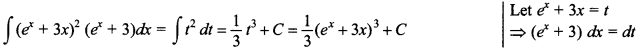 Maths MCQs for Class 12 with Answers Chapter 7 Integrals 100