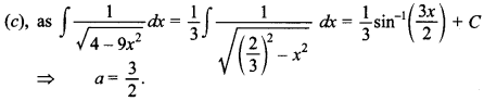Maths MCQs for Class 12 with Answers Chapter 7 Integrals 105