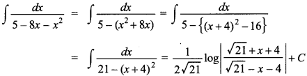 Maths MCQs for Class 12 with Answers Chapter 7 Integrals 112