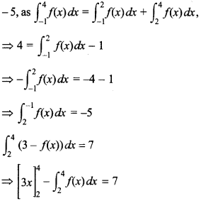 Maths MCQs for Class 12 with Answers Chapter 7 Integrals 118