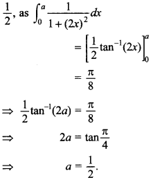 Maths MCQs for Class 12 with Answers Chapter 7 Integrals 128