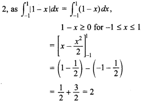 Maths MCQs for Class 12 with Answers Chapter 7 Integrals 129