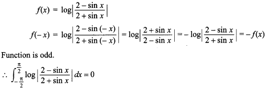 Maths MCQs for Class 12 with Answers Chapter 7 Integrals 141