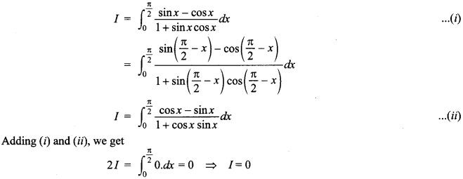 Maths MCQs for Class 12 with Answers Chapter 7 Integrals 143