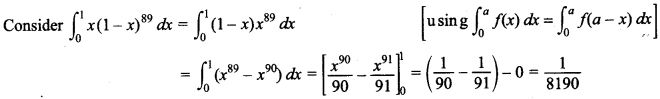 Maths MCQs for Class 12 with Answers Chapter 7 Integrals 145