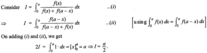 Maths MCQs for Class 12 with Answers Chapter 7 Integrals 146