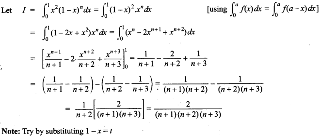 Maths MCQs for Class 12 with Answers Chapter 7 Integrals 147