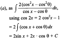 Maths MCQs for Class 12 with Answers Chapter 7 Integrals 66
