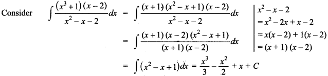 Maths MCQs for Class 12 with Answers Chapter 7 Integrals 72
