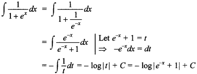 Maths MCQs for Class 12 with Answers Chapter 7 Integrals 89
