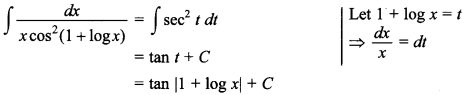 Maths MCQs for Class 12 with Answers Chapter 7 Integrals 90