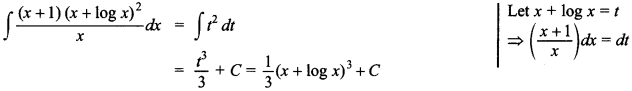 Maths MCQs for Class 12 with Answers Chapter 7 Integrals 96