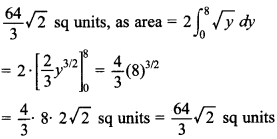 Maths MCQs for Class 12 with Answers Chapter 8 Application of Integrals 4