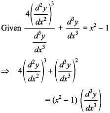 Maths MCQs for Class 12 with Answers Chapter 9 Differential Equations 11