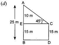 MCQ Questions for Class 10 Maths Application of Trigonometry with Answers 23