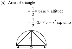 MCQ Questions for Class 10 Maths Areas Related to Circles with Answers 18