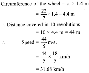 MCQ Questions for Class 10 Maths Areas Related to Circles with Answers 19