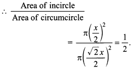 MCQ Questions for Class 10 Maths Areas Related to Circles with Answers 23