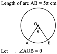 MCQ Questions for Class 10 Maths Areas Related to Circles with Answers 27