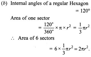 MCQ Questions for Class 10 Maths Areas Related to Circles with Answers 31