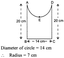 MCQ Questions for Class 10 Maths Areas Related to Circles with Answers 33