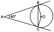 MCQ Questions for Class 10 Maths Circles with Answers 8