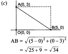 MCQ Questions for Class 10 Maths Coordinate Geometry with Answers 22