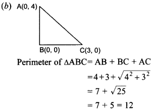 MCQ Questions for Class 10 Maths Coordinate Geometry with Answers 23