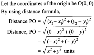 MCQ Questions for Class 10 Maths Coordinate Geometry with Answers 26