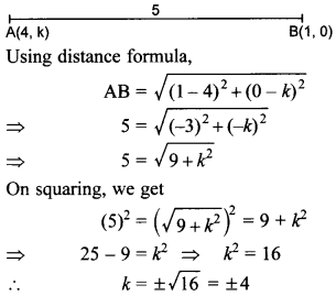 MCQ Questions for Class 10 Maths Coordinate Geometry with Answers 28