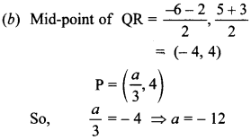 MCQ Questions for Class 10 Maths Coordinate Geometry with Answers 33