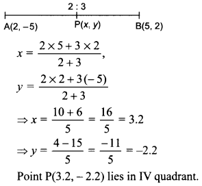 MCQ Questions for Class 10 Maths Coordinate Geometry with Answers 35