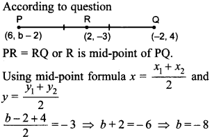 MCQ Questions for Class 10 Maths Coordinate Geometry with Answers 39